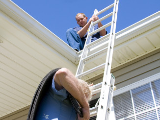 bigstock-Roofers-Ladder-2831052